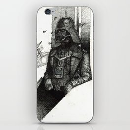 German Vader shall conquer all iPhone Skin