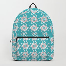 Small Script Letter H Pattern Backpack