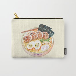 Ramen Pugs Watercolor Carry-All Pouch