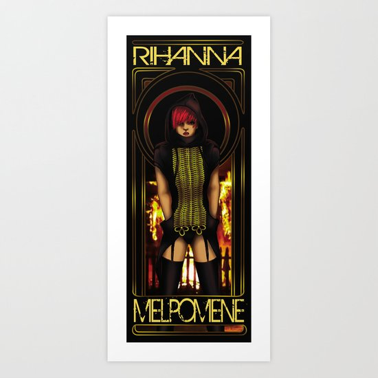 The Muse of Tragedy Art Print