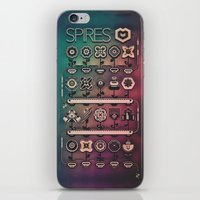 spires iPhone & iPod Skins featuring SPIRES IRRIGATION (2014) by Spires