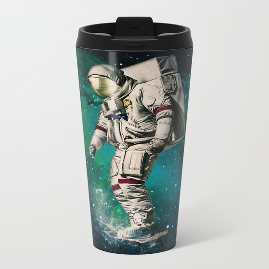 Space Ride Metal Travel Mug