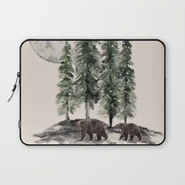 Full Moon Rising Laptop Sleeve