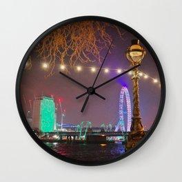 london by night Wall Clock