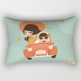 Happy Life Rectangular Pillow