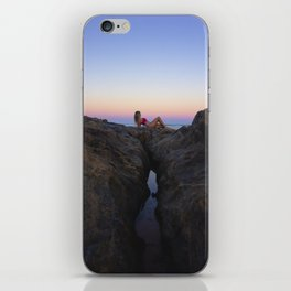Hollywood Sunset Rocks iPhone Skin