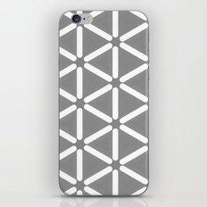 Wildeman Grey Pattern iPhone & iPod Skin