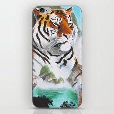 Quiet Tiger - big cat - animal - by LiliFlore iPhone & iPod Skin