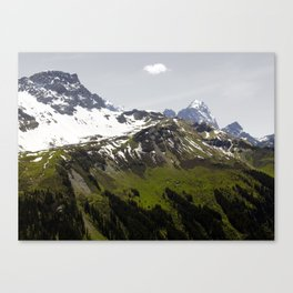 Vernal Cloud Canvas Print