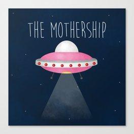 The Mothership Canvas Print