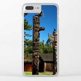 Beacon Hill Park Totem Clear iPhone Case