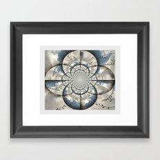 Hypnotic Sky Framed Art Print