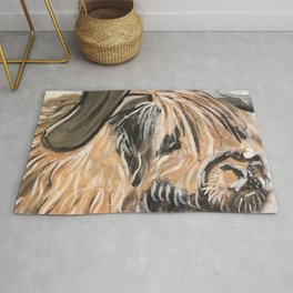 Highland Cow by Noelle's Art Loft Rug