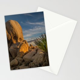 Joshua Tree Rock Formation Stationery Cards