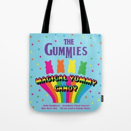 The Gummies, Magical Yummy Candy Tote Bag