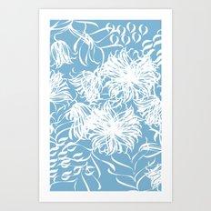 cool breezy Art Print