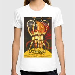Vintage Olympique Bicycle Ad T-shirt