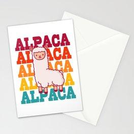 Alpaca Camel Vintage Pako Llama Cool Hipster Funny Stationery Cards