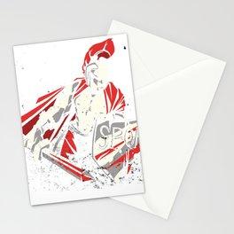 Roman Warrior Stationery Cards