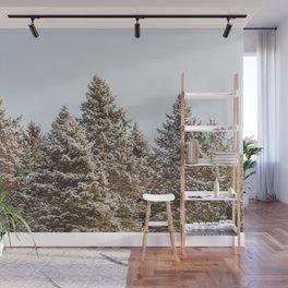 Shades of Winter Wall Mural
