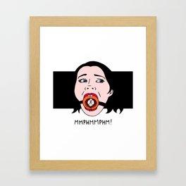 MMPHMMPHM! Framed Art Print