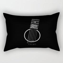 Gibson L-1-Robert Johnson Tribute - Blues Legend Rectangular Pillow