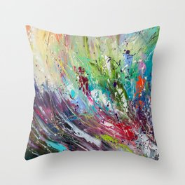 High grass Throw Pillow