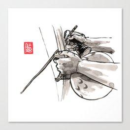 "Capoeira 482 ""Berimbau"" Canvas Print"