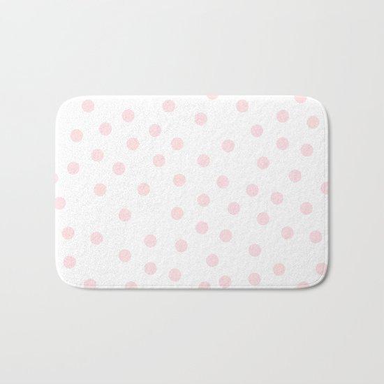 Simply Dots in Pink Flamingo Bath Mat