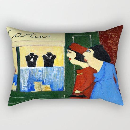 jewelry store Rectangular Pillow
