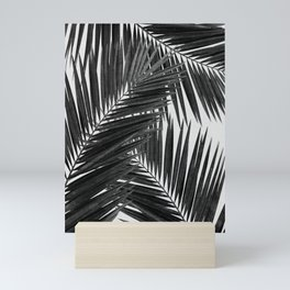 Palm Leaf Black & White III Mini Art Print