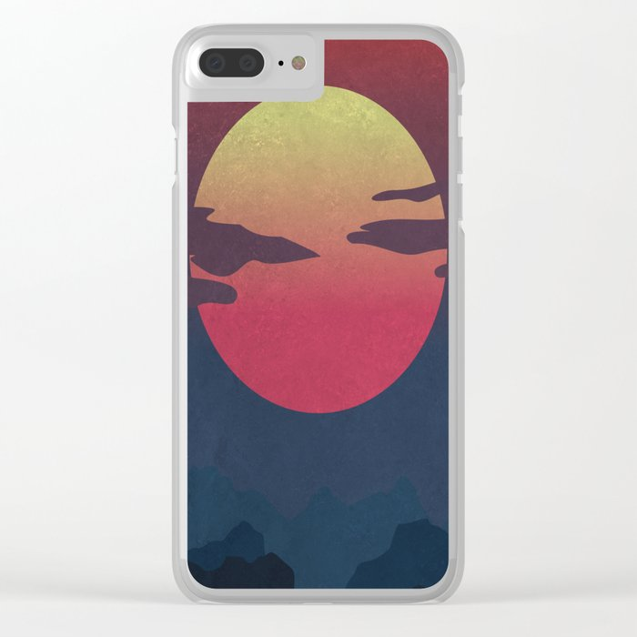 Island Clear iPhone Case