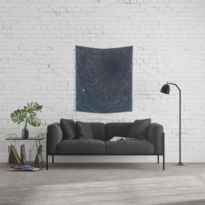 Cloud City airshaft Wall Tapestry