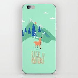 Back to Nature iPhone Skin