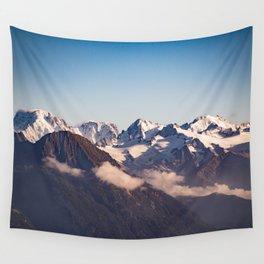 Snowy Peaks Wall Tapestry