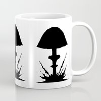 mushroom Mugs featuring Mushroom by Kristijan D.