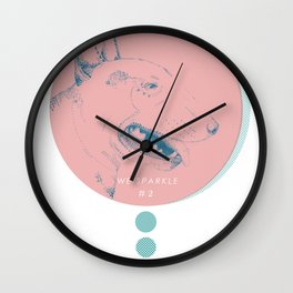WE SPARKLE #2 Wall Clock