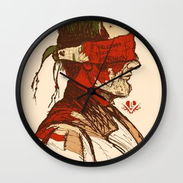 Freedom from Oppression  Wall Clock