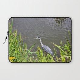 Beautiful Blue Heron Laptop Sleeve