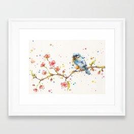 Little Journeys (BlueBird) Framed Art Print
