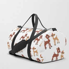 Classic Rudolph and Clarice Duffle Bag