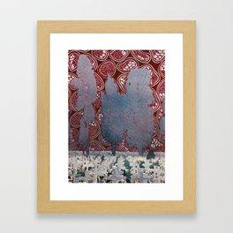 Particles Framed Art Print