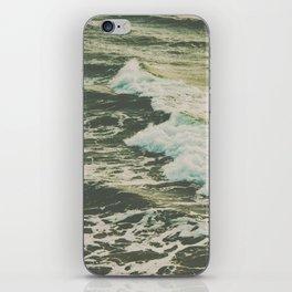 Marble Ocean Crush iPhone Skin