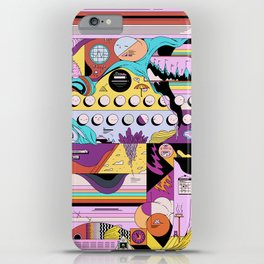 Daily stress and comfort iPhone Case