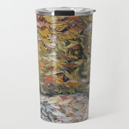 Fall Leaves Travel Mug