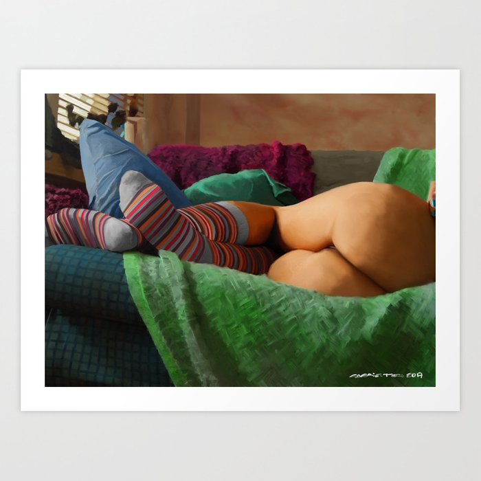 Hot Dreams #2 Art Print