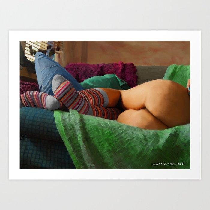 Hot Dreams #2 Art Print