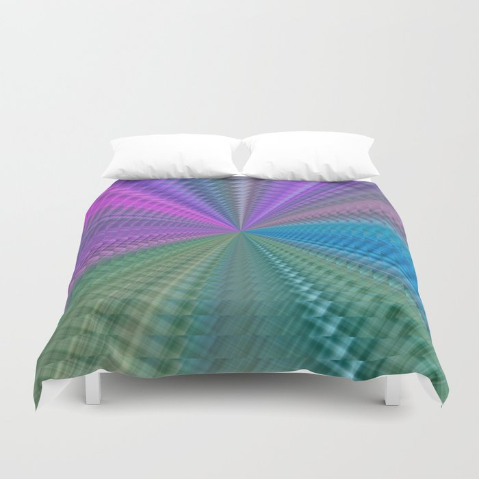 Psychedelic Twist Duvet Cover