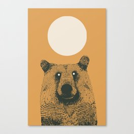 Sun bear Canvas Print