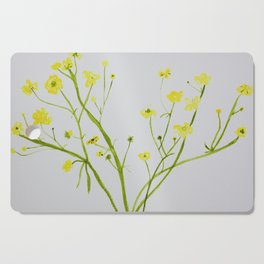 Icelandic Buttercup Cutting Board
